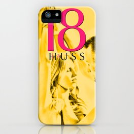 Eighteen (18) by JA Huss Based on a True Story iPhone Case