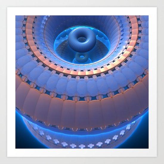 Dilithium Engine, Online Art Print