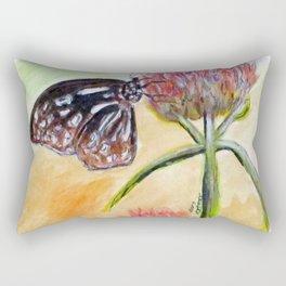 Erika Butterfly Two Rectangular Pillow