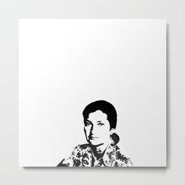 Simone Veil | Feminism Metal Print