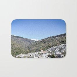 Pueblos Blancos with Sierra Nevada Bath Mat