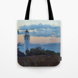 San Vicente Lighthouse Tote Bag