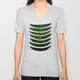 Binary Code Inside Unisex V-Neck