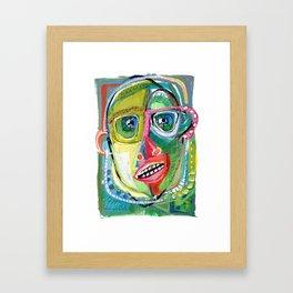 Innocent Bystander Framed Art Print