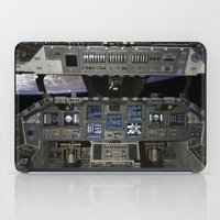 nasa iPad Cases featuring Space Shuttle NASA by Planet Prints