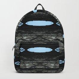 Oak Tree Blue Portal Nature Pattern by Debra Cortese Designs Backpack
