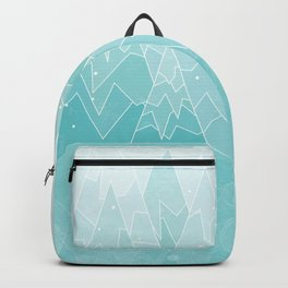 Geometric Lake Mountain IV - Winter Backpack