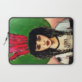 GIRL ALMIGHTY PAINTING Laptop Sleeve