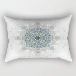 Light Birch Mandala Rectangular Pillow