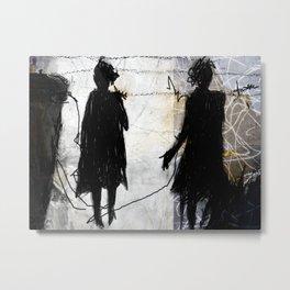 two women Metal Print