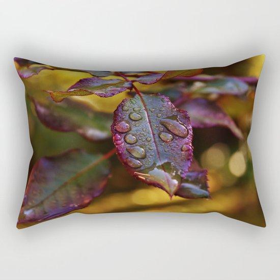 colourful leaves Rectangular Pillow