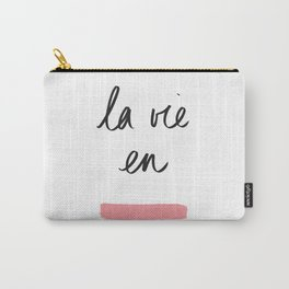 La Vie en Rose x Telma W. Carry-All Pouch