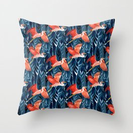 Egrets Throw Pillows For Any Room Or Decor Style Society6