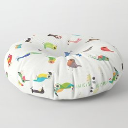 Birds Floor Pillow