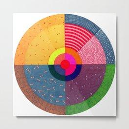 BIG circle No. 3 Metal Print