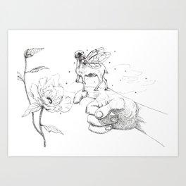 Fairy Friend Art Print