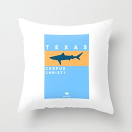 Corpus Christi. Throw Pillow
