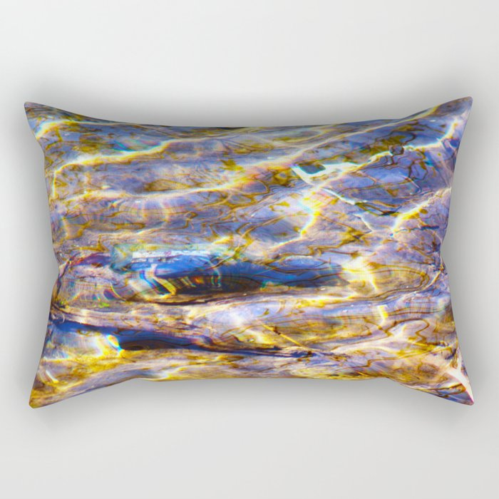 All Water is Ganga Rectangular Pillow
