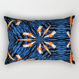 Flamingo Dance Rectangular Pillow