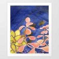 Succulent Two Art Print