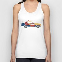 mad max Tank Tops featuring Mad Max RockaStarsky by Brandon Ortwein