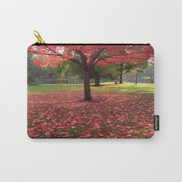 Red Maple Tree Carry-All Pouch