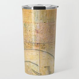 Map of the City of Memphis, Tennessee (1858) Travel Mug