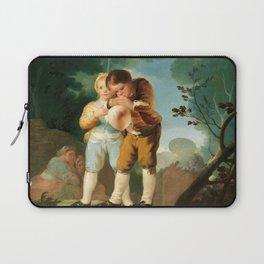 "Francisco Goya ""Children blowing up a Bladder"" Laptop Sleeve"