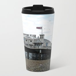 Brighton pier Metal Travel Mug