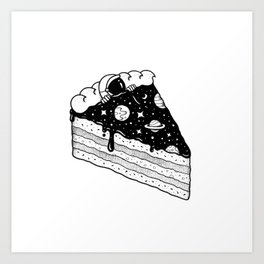 Cosmic Deliciousness Art Print