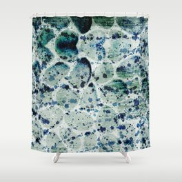 Rock Splash Shower Curtain