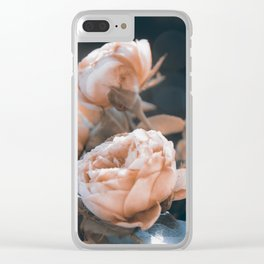 warm evenings Clear iPhone Case
