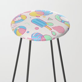 Summer Vibes Counter Stool