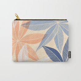 Modern Hawaiian Print II Carry-All Pouch