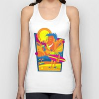 surfer Tank Tops featuring Surfer by Roberlan Borges