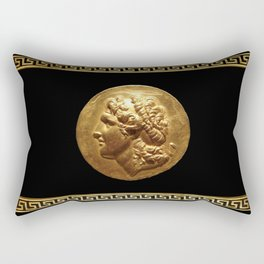 Alexander the Great in the Golden Age Rectangular Pillow