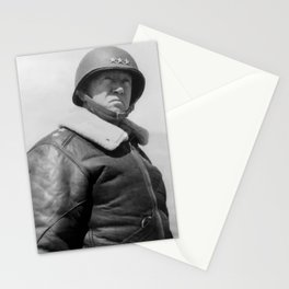 General George S. Patton Stationery Cards