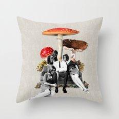 Upper Class Dealer Throw Pillow