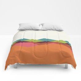 Chevron Mountain Comforters