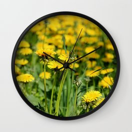Die Löwenschar Wall Clock