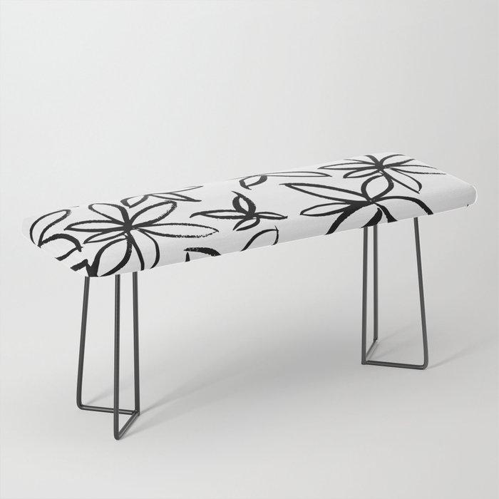 Big Floral Bench