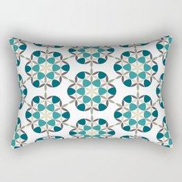 Flower of life tile Rectangular Pillow