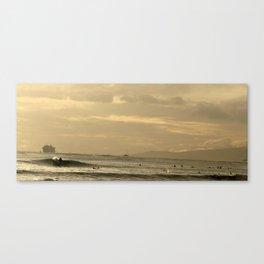 Waikiki sunset 2 Canvas Print