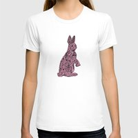 rabbit T-shirts featuring Rabbit by Suburban Bird Designs