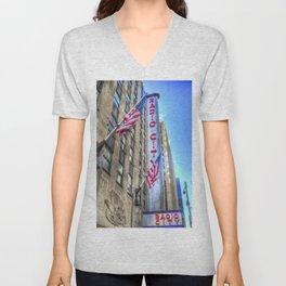 Radio City Music Hall New York Unisex V-Neck