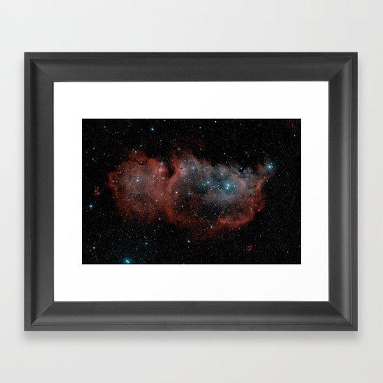 Space 19 Framed Art Print