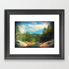 Wilson Creek Framed Art Print