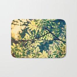 Vintage trees Bath Mat