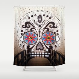 Bridge of the Dead Shower Curtain
