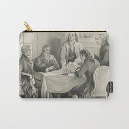 Vintage Illustration of the Declaration Committee Carry-All Pouch